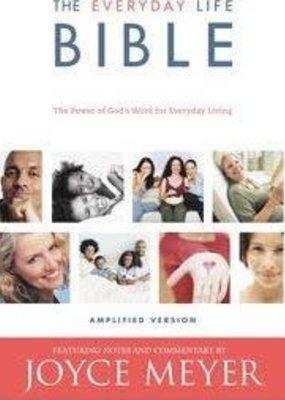 Faith Words Joyce Meyers' Everyday Life Bible Bonded Leather, Burgundy