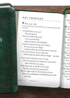 The Focused Life 31-day reading plan for Psalms and Proverbs