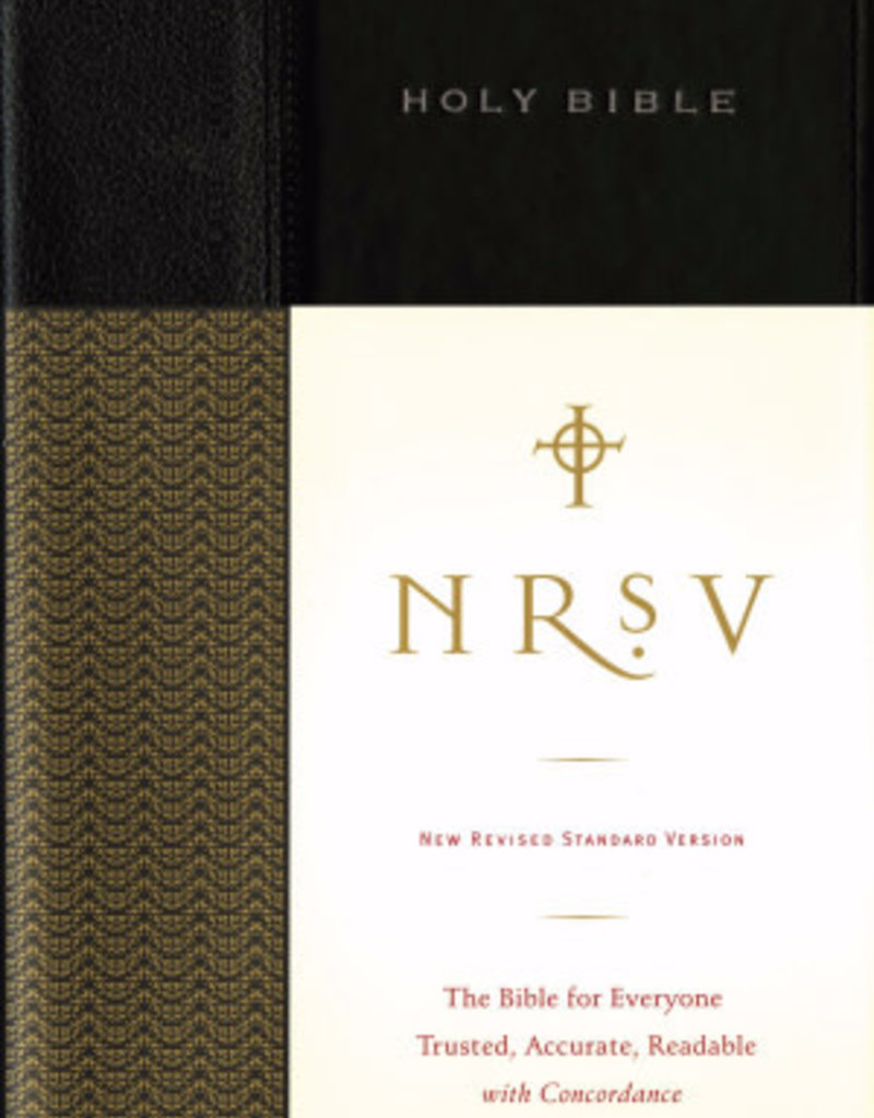 Zondervan NRSV, Standard Bible, Hardcover, Black: The Bible for Everyone