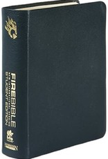 Hendrickson NIV Fire Bible Student Edition - Black Bonded Leather (9781598565201)