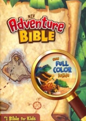 NIV*Adventure Bible (Full Color)-Hardcover Indexed