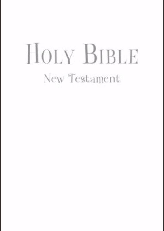 NIV Tiny Testament White