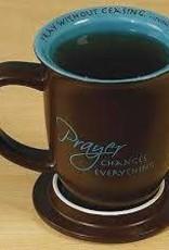 Abbey Gift Prayer Changes Everything Mug & Coaster