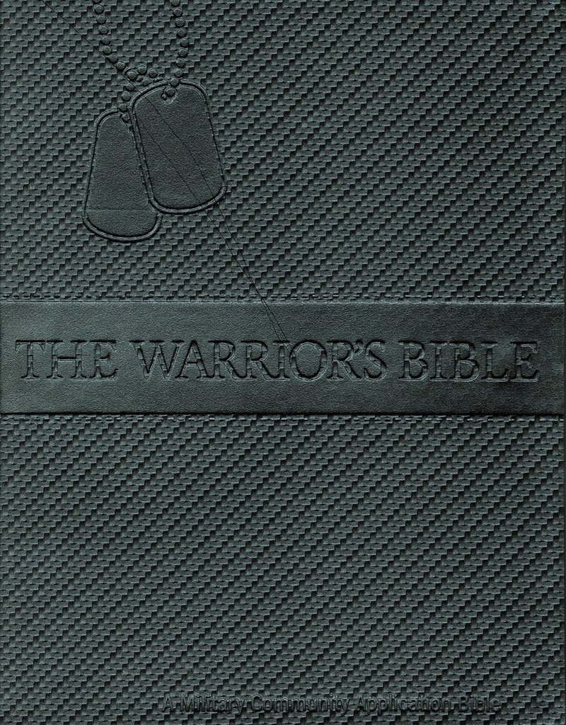 Warrior Spirit Publication NKJV Warriors Bible Gray Bonded Leather