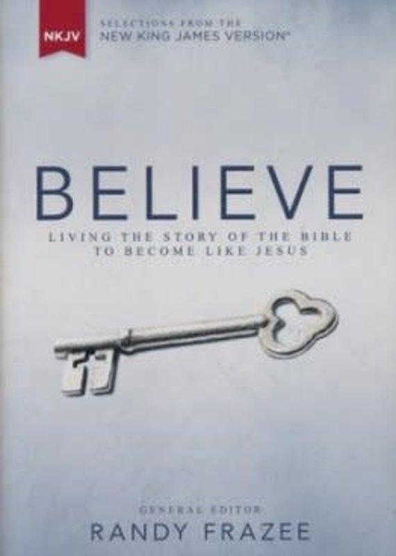Zondervan NKJV Believe Hardcover