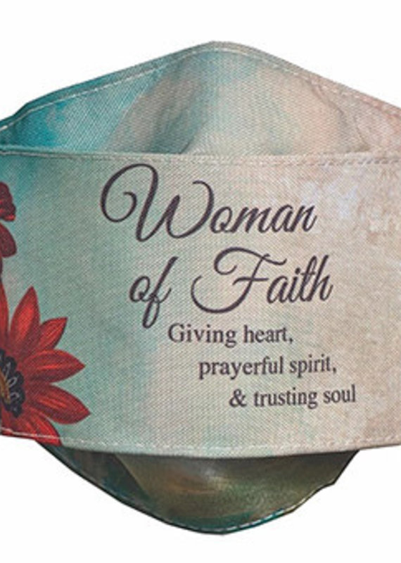 Abbey Gift Woman Of Faith Face Mask
