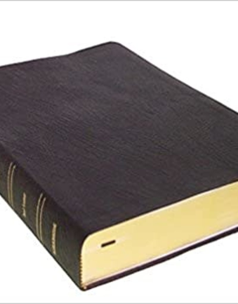 Kirkbride Bible Co. KJV Black Genuine Leather, LP, Thompson Chain Reference Bible