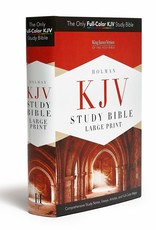 KJV Study Bible-Large Print (Full Color)-Hardcover