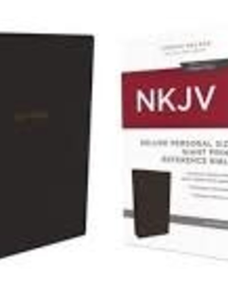 NKJV DELUXE REFERENCE BIBLE PERSONAL SIZE GIANT PRINT LEATHERSOFT