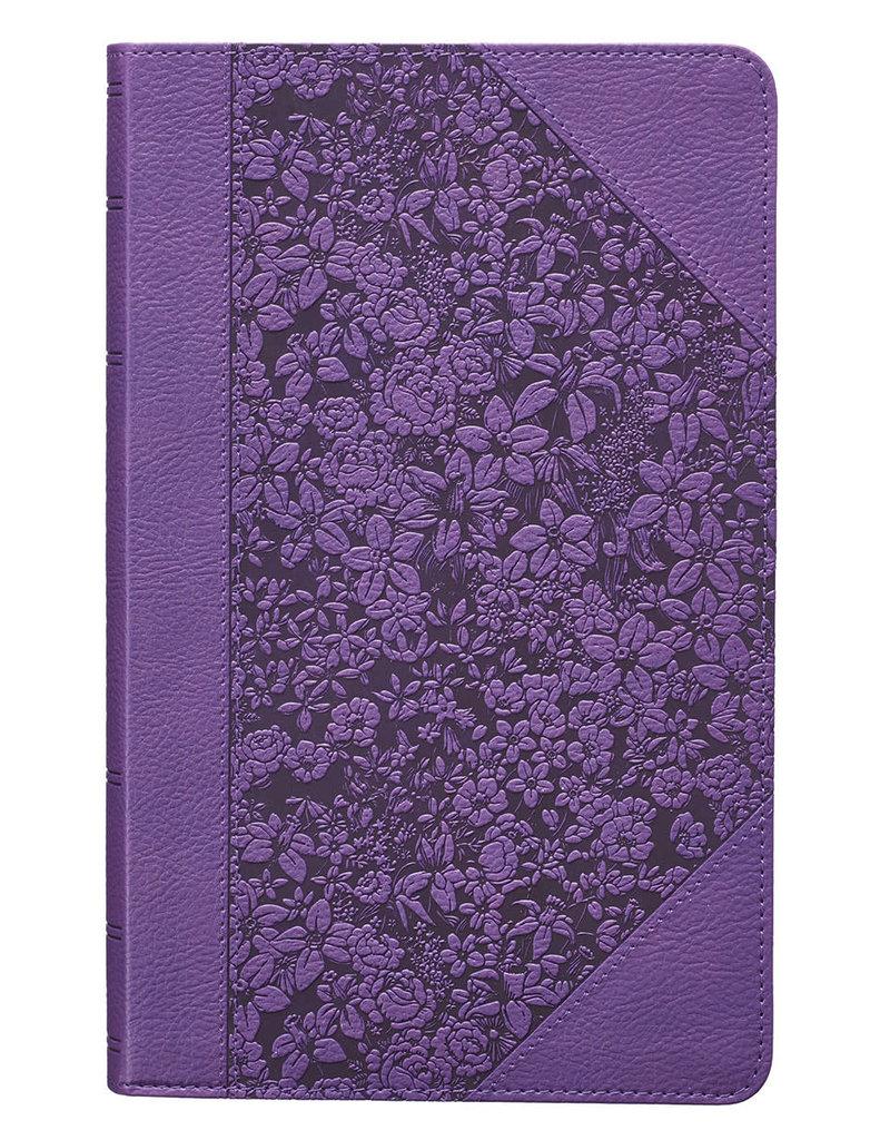 KJV Giant Print Purple Bible(CTA)