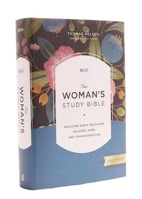 NIV Woman's Study Bible (Full-Color)-Hardcover