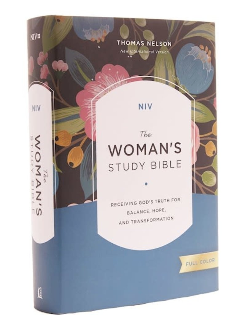 NIV Woman's Study Bible (Full-Color)-Hardcover