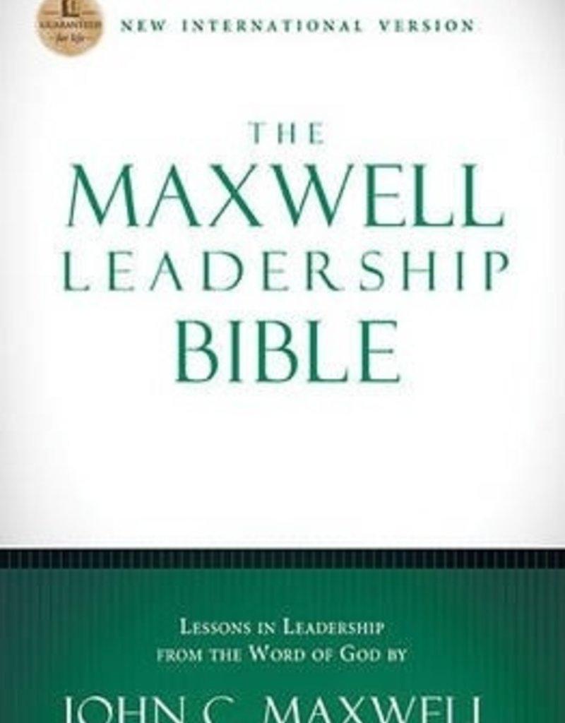 NIV, The Maxwell Leadership Bible, Hardcover