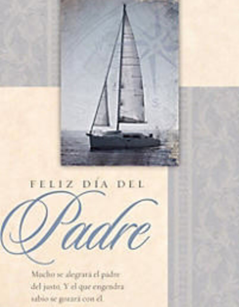 Span-Bulletin-Happy Father's Day (Feliz Día Del Padre) (Proverbs 23:24) (Pack Of 100)