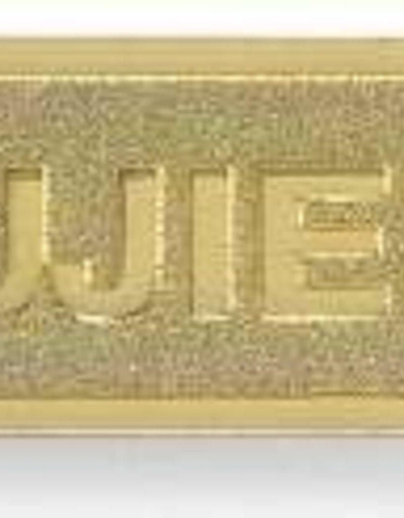 Span-Badge-Usher-Magnetic Back-Brass