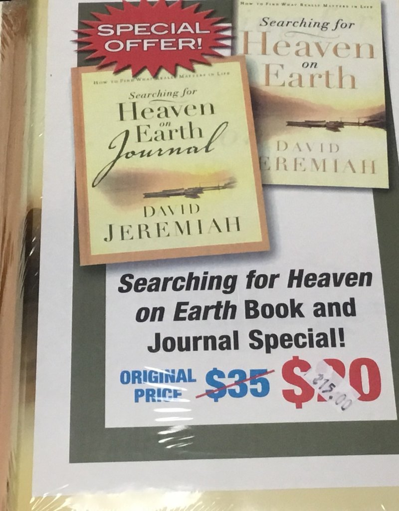Searching for Heaven on Earth Book & Journal Set