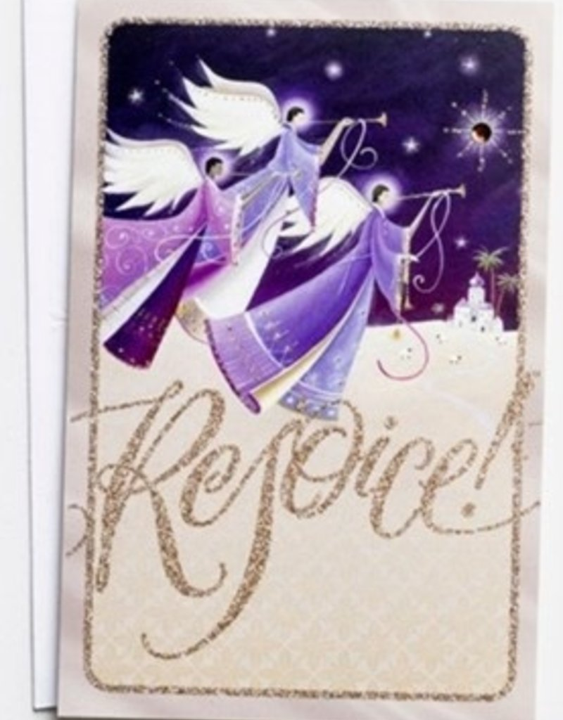 Rejoice Angels Christmas Boxed Cards