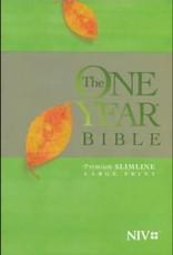 Tyndale NIV One Year Bible Premium Slimline Large Print Soft Cover