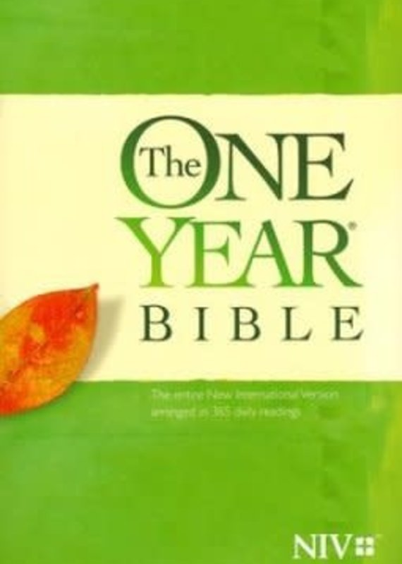 Tyndale NIV One Year Bible Softcover