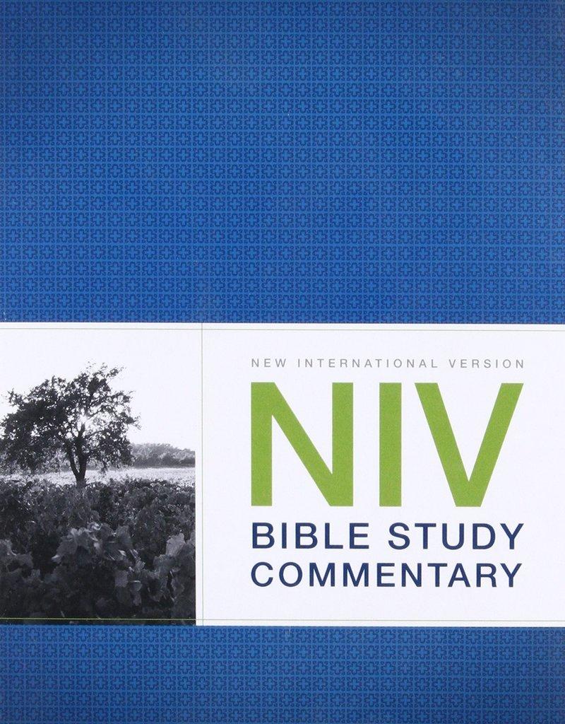 Zondervan NIV Bible Study Commentary