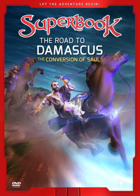 Charisma Media DVD - SuperBook The Road to Damascus, The Conversion of Saul