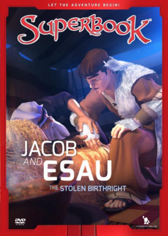 Charisma Media DVD - SuperBook Jacob and Esau - The Stolen Birthright