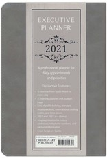 I Can Do All Things (Philippians 4:13), 2021 Executive Planner with Zipper, Gray