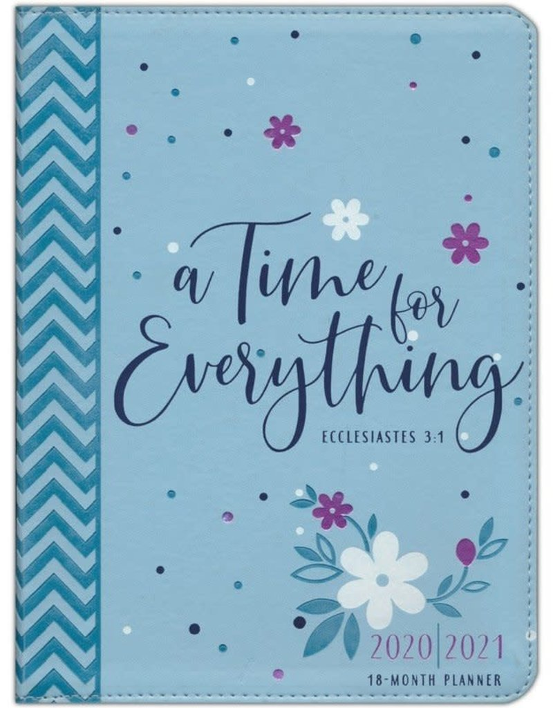 Broadstreet Publishing 2021 A Time for Everything 18-Month Planner with Zipper