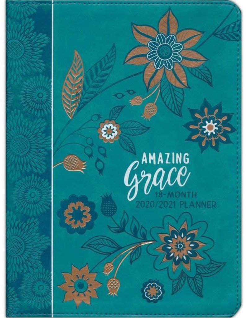 Broadstreet Publishing 2021 Amazing Grace 18-Month Planner with Zipper