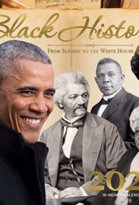 African American Expressions Black History From Slavery to The White House 2021 Wall Calendar