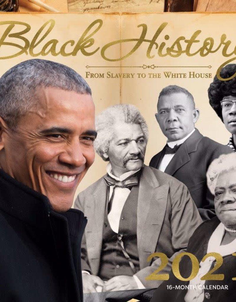 African American Expressions Calendar - 2021 Black History Wall Calendar