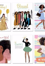 African American Expressions Boxed Cards - All Occasion Assortment Box 14 Sister Friends 2