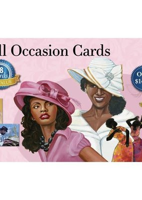 African American Expressions Boxed Cards - AOAB760 All Occasion Assortment Box 18