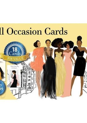 African American Expressions Boxed Cards - All Occasion Assortment Box 11 - Sister Friends