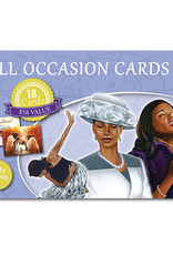 African American Expressions Boxed Cards - All Occasion Assortment - Blue Box