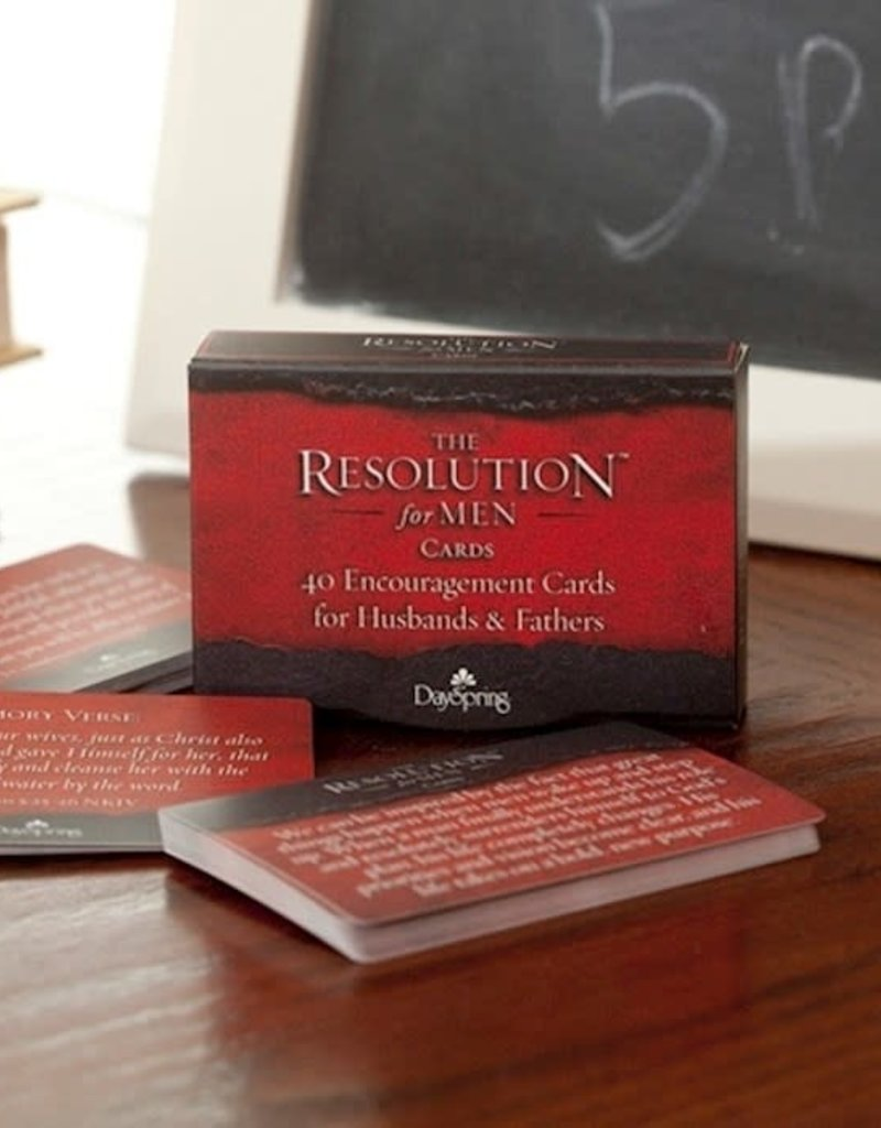 Encouragement Cards-Resolution for Men