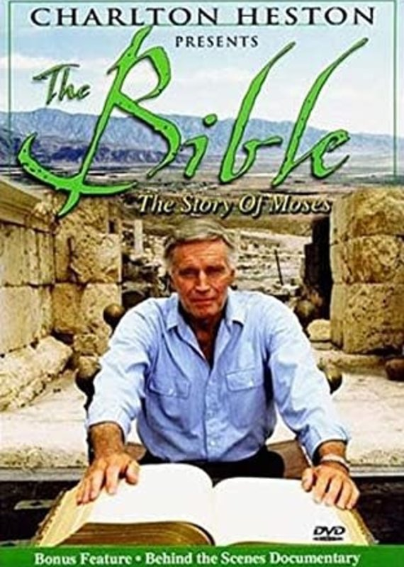 Good Times DVD - Charlton Heston Presents The Bible: The Story of Moses