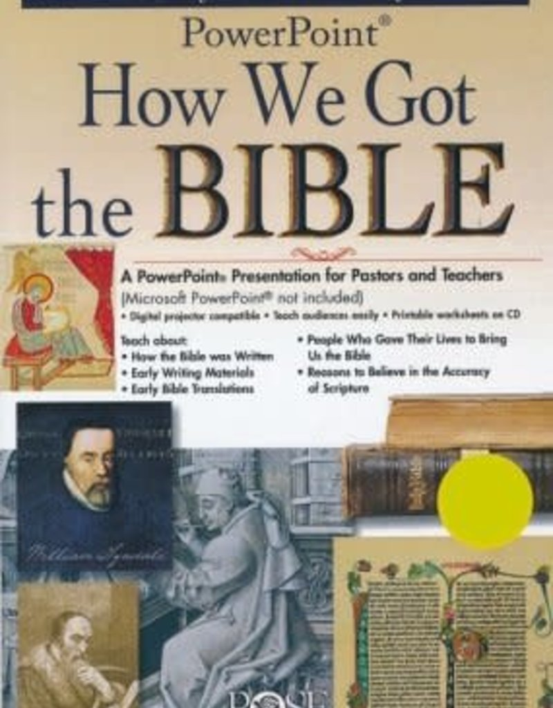 Rose Publishing How We Got the Bible: PowerPoint CD-ROM