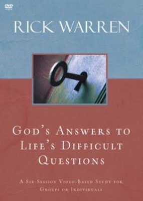 Zondervan DVD - God's Answers To Life's Difficult Questions