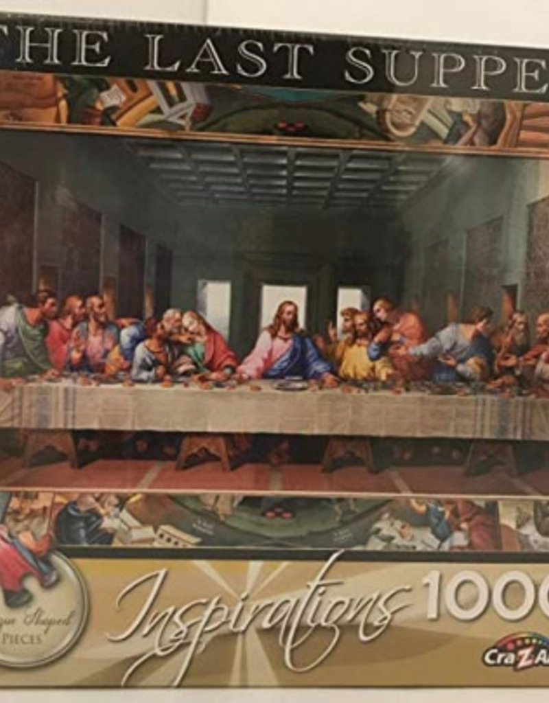 Puzzle: Last Supper, The 12.04 LaRose 1,000 PC