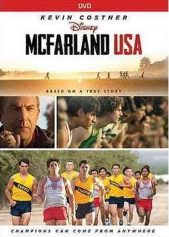 Disney DVD - MCFarland USA (Kevin Costner)