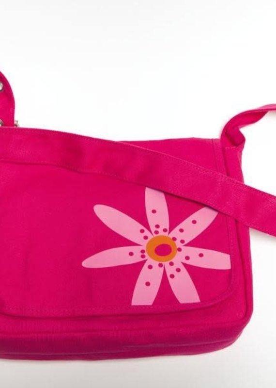 Bible Cover - Faithgirlz Messenger Bag Medium Pink