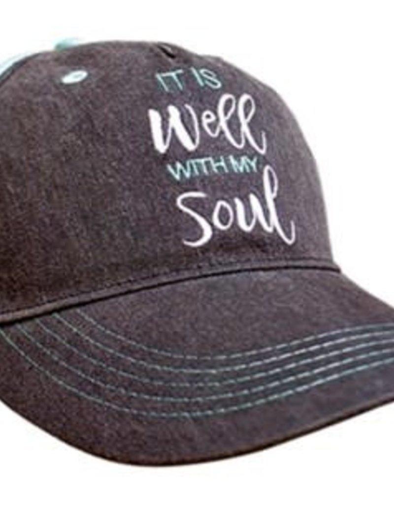 Kerusso grace & truth® Women's Hat It Is Well With My Soul