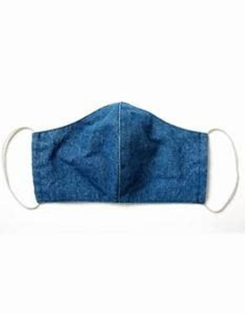 Child Denim Blue Face Mask