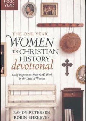 The One Year Women In History Devotional