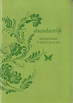 "Abundant Life Devotional ""365 Blessings to Begin Your Day"