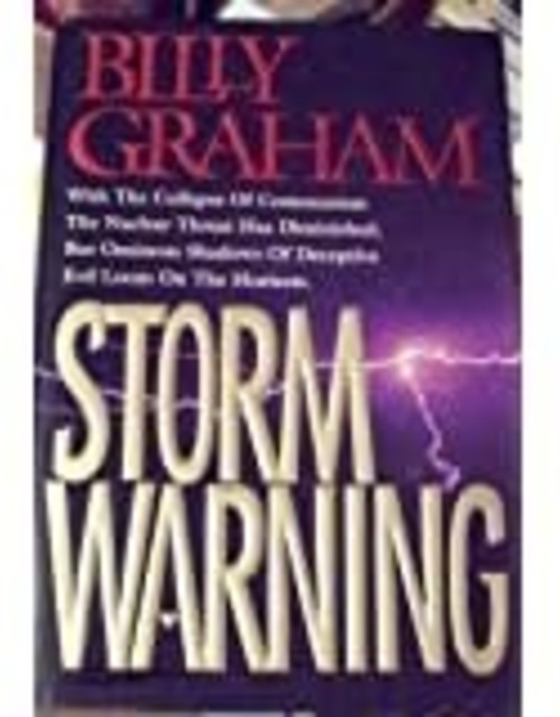 Storm Warning: Deceptive Evil Looms on the Horizon Hardcover