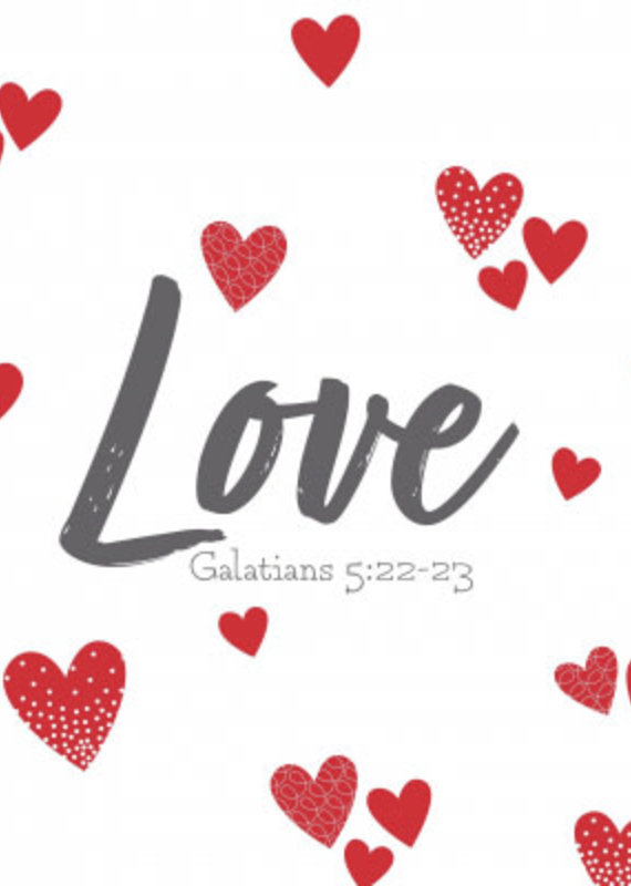 Fruitful Kids Scripture Swaddle: Love (47x47)