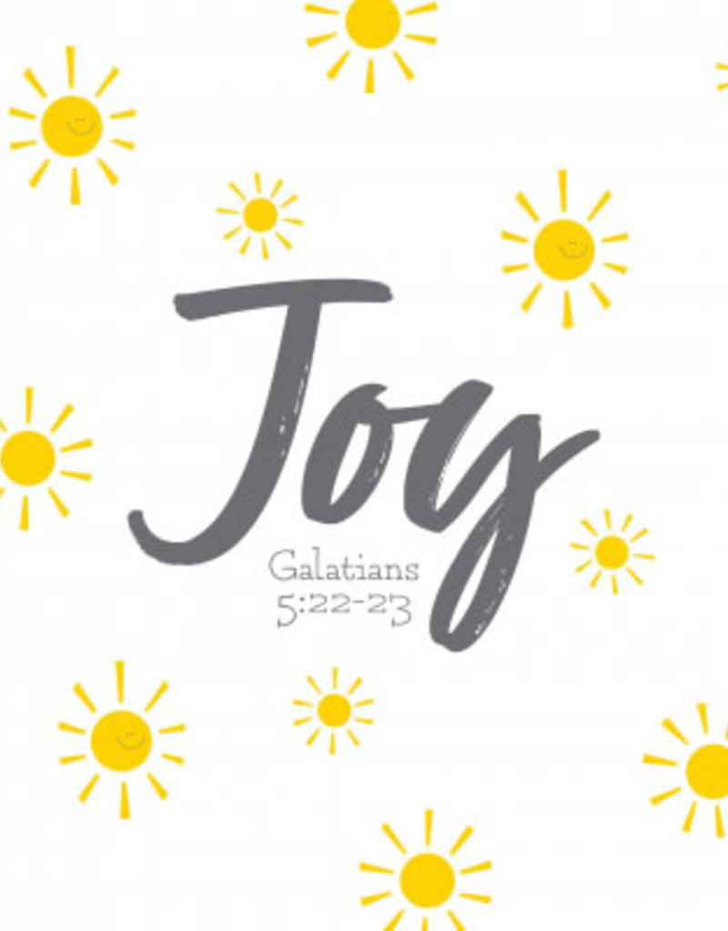 Fruitful Kids Scripture Swaddle: Joy (47x47)