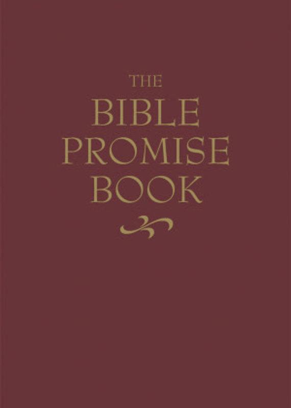 Barbour The Bible Promise Book (KJV)-Burgundy